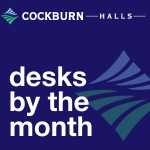 Desks by the month - Cockburn Halls, Ormiston East Lothian